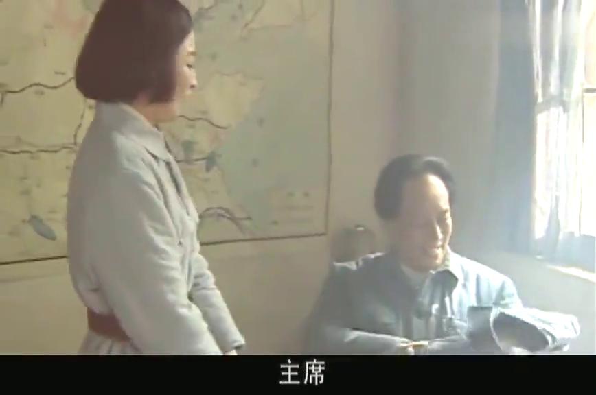 东方红江同志说话直但心眼不坏!竟和着女同志约毛主席跳舞!