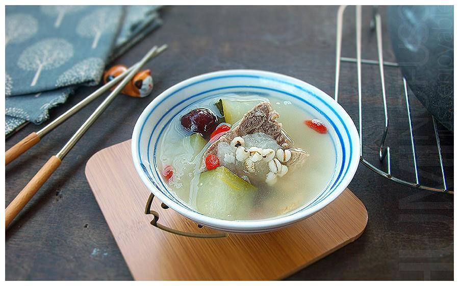 一人一道拿手菜 薏米冬瓜排骨汤