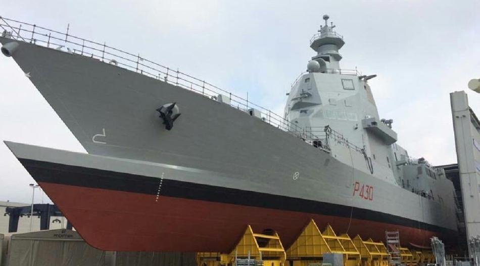 欧洲又打造出一款外形科幻远洋护卫舰,舰艏外形世界独创!