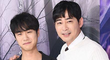 姜志焕等出席电视剧《小神的孩子们》发布会