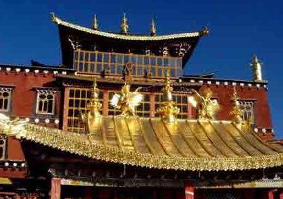 迪庆归化寺——位于迪庆州州府中甸城北佛屏山下