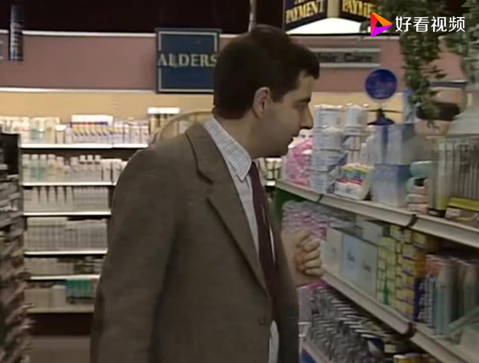 憨豆买牙刷竟然这样买还要先试用这也太不道德了