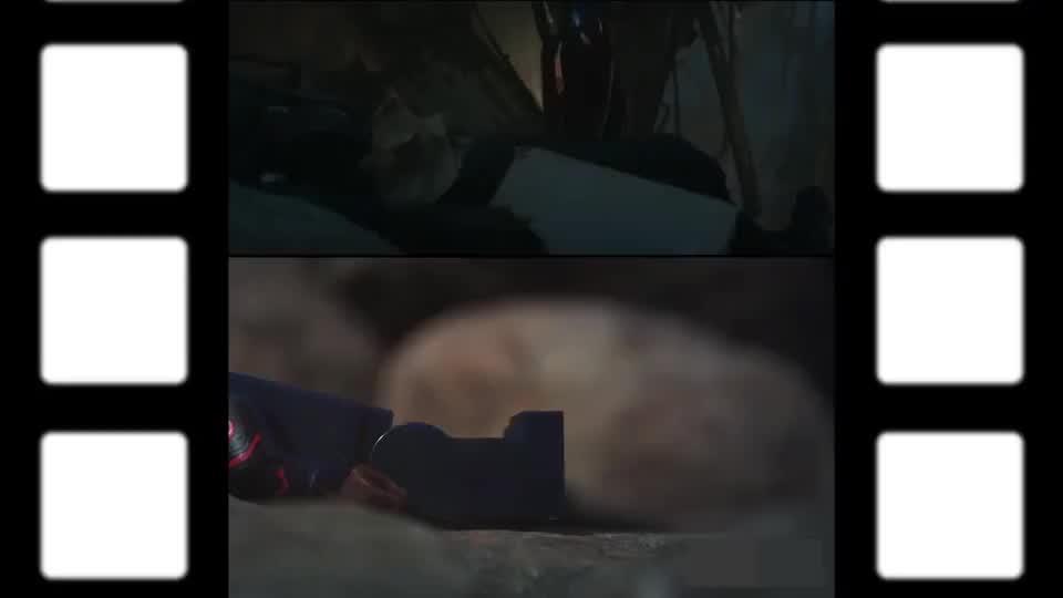 乐高版《复联4》决战时刻VS电影版
