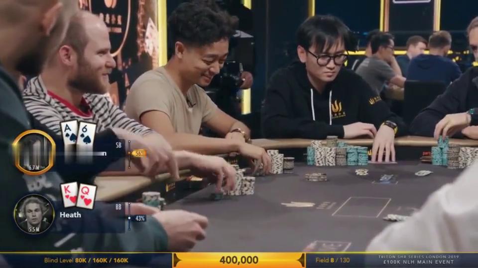 德州扑克:高手们之间的交流