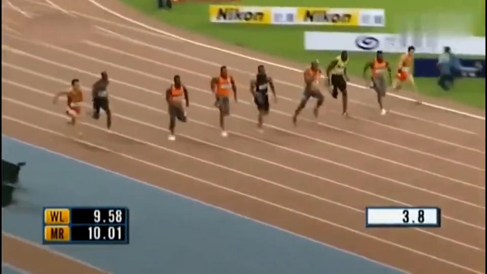 巅峰泰森盖伊短跑什么水平?百米跑9秒69仅次于飞人博尔特!