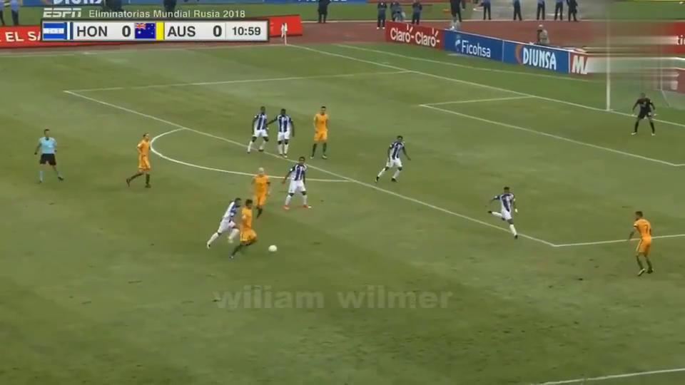 附加赛澳大利亚0-0洪都拉斯,客场拿走宝贵一分!