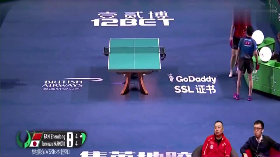 比赛中球破了怎么办刘国梁直夸小胖做得聪明!