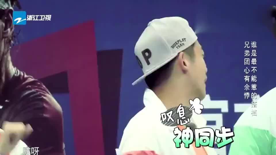 跑男团用粤语介绍自己的女人陈赫说完后邓超表情亮了
