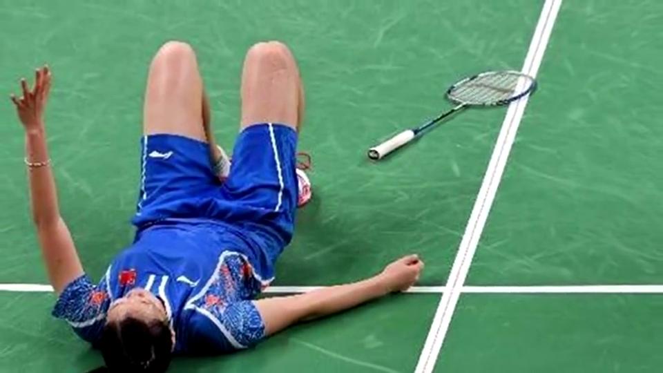 """""""消失""""600天伤愈复出!伦敦奥运冠军李雪芮霸气归来"""