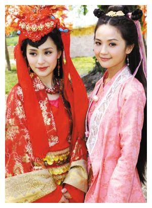 钟欣桐9个古装角色,仙乐谢瑶环巽芳,你最爱哪个?