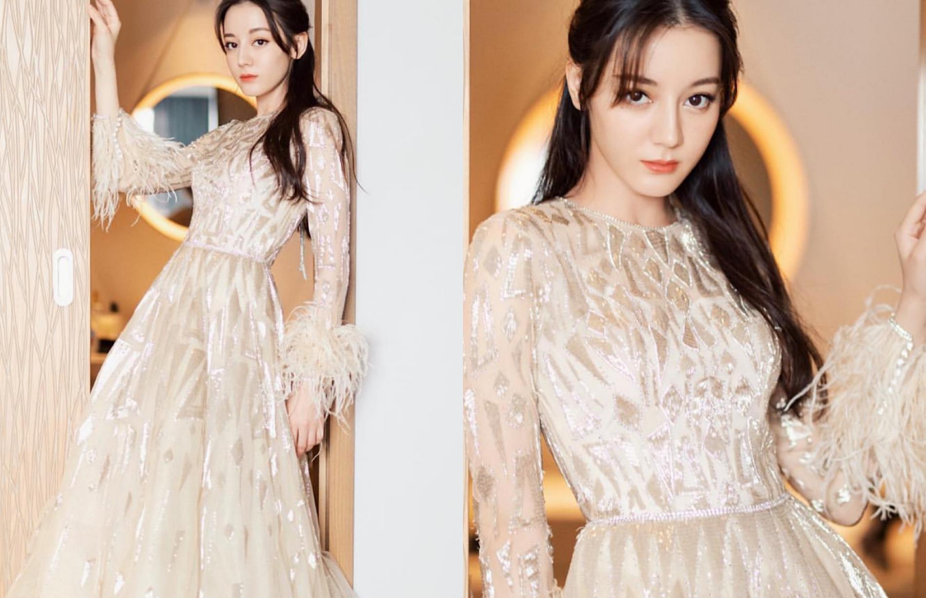 穿过The Atelier高定礼服的中国女星:热巴小仙女,钟楚曦惊艳