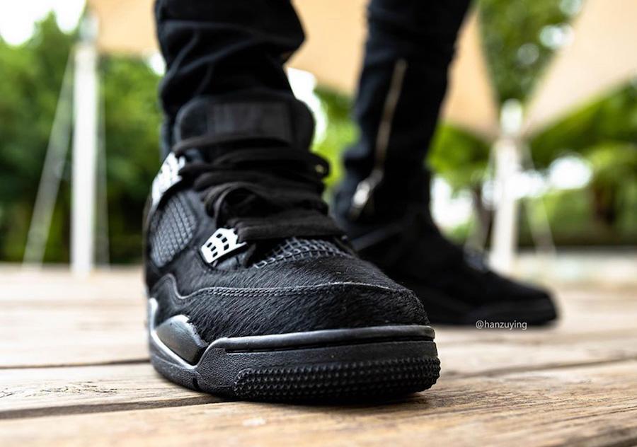 黑猫换装回归,Air Jordan 4「Black Cat」或将年末登场 !