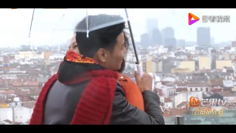 蔡少芬与张晋阳台上相拥舞动网友又相信了爱情
