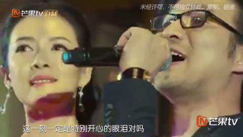 汪峰求婚视频曝光章子怡哭花了妆,包文婧爆料包贝尔求婚细节!