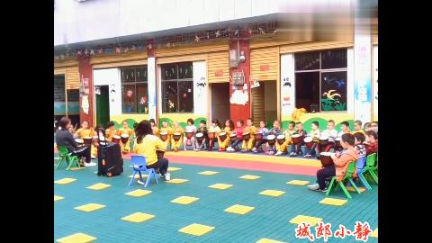 快六一儿童节了,幼儿班的小朋友们勤加练习,太可爱了!