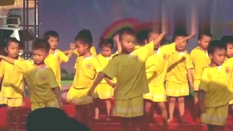 幼儿舞蹈《咕咕宝贝》,六一儿童节儿童舞蹈表演视频!