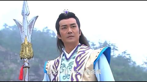 杨戬手持银尖宝戟竟然这么厉害哪吒土行孙加起来都不是对手