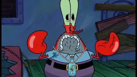 海绵之痞老板恐慌症-蟹老板魔化,制作核武器拯救被绑架的章鱼哥