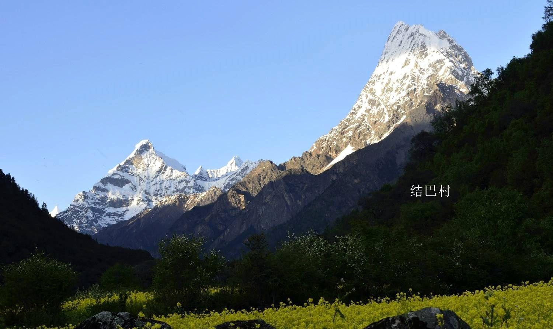 林芝最美雅江大峡谷,仰望南迦巴瓦峰,住结巴村徒步巴松措新措