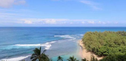 夏威夷拥有着世界上最美丽的海滩,这个岛几乎有各种类型的海滩!