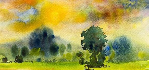 准备出门写生的美术生必看的色彩风景写生详解-石家庄艺考画室