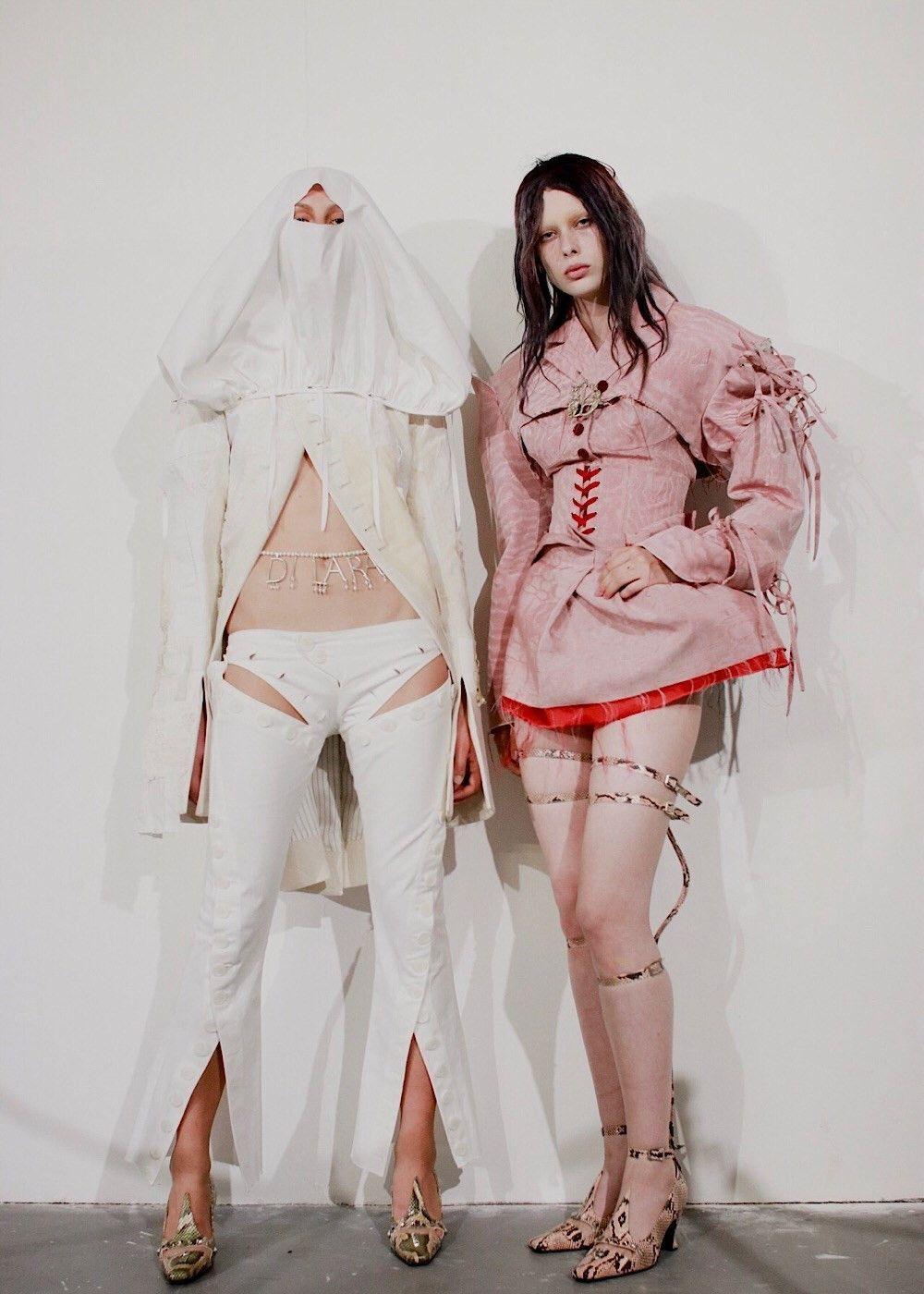 看不懂的时尚!伦敦时装周最桀骜不羁的设计师