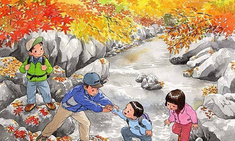 美好的童年时光:插画师画的全是我们记忆中的童年,画面十分温馨