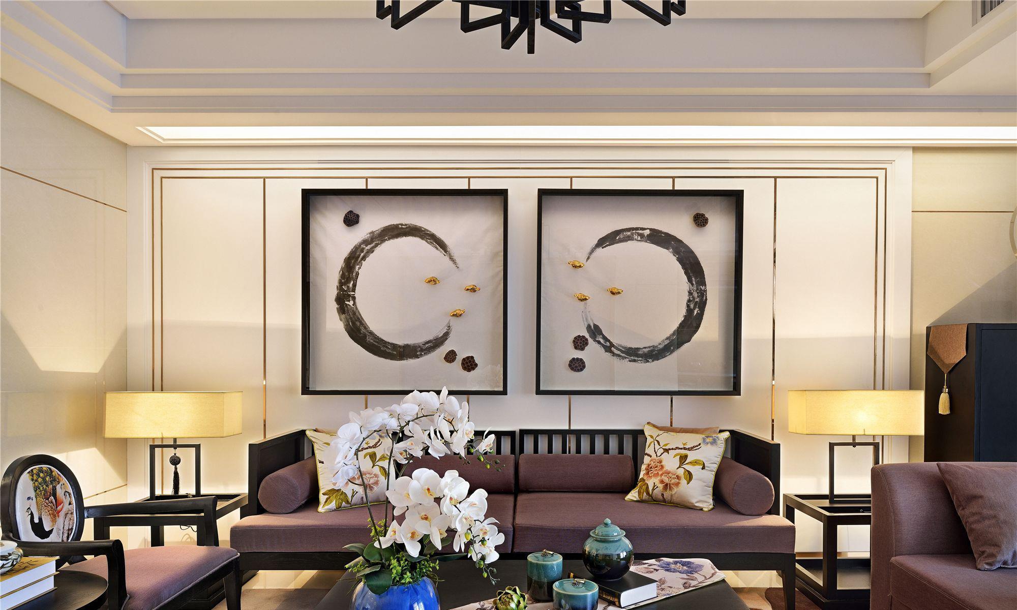 120平米四居室东南亚风格装修效果图 让一家三代人都爱不释手