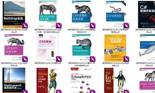 全网最全编程电子书,搜集3年的300多本编程电子书,忍痛分享