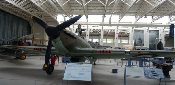 英国军事历史之旅37-帝国战争博物馆Duxford分馆之不列颠之战
