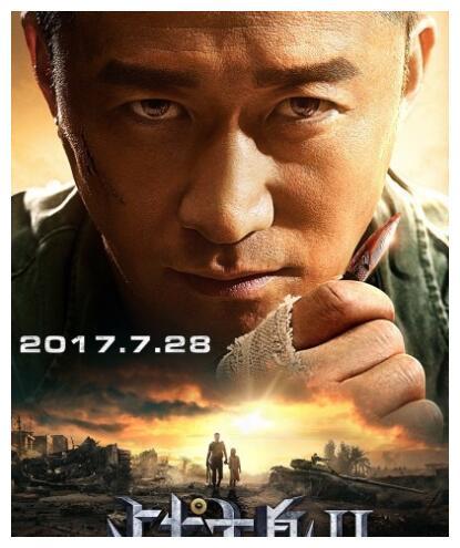 《战狼2》票房口碑双丰收,张翰大受好评谢楠对吴京支持让人感动