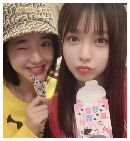 唐艺昕经常找她吃火锅,王源会给她寄零食,她的人缘是有多好!
