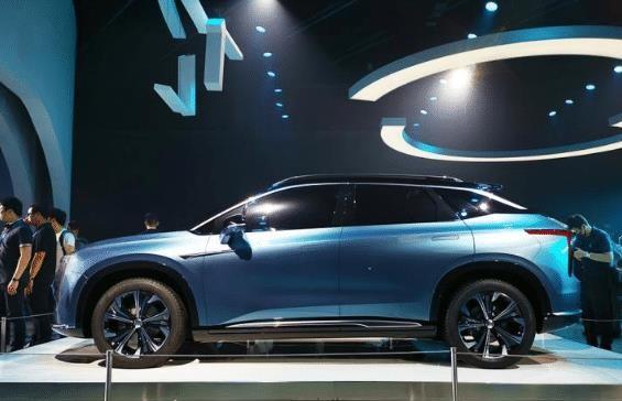 广汽蔚来首款汽车曝光,车型为SUV,将于明年正式上市