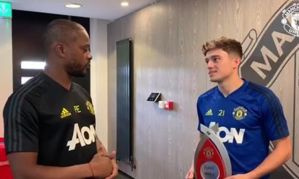 埃弗拉:詹姆斯充满激情和爱,曼联需要这样的球员