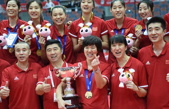 中国体育荣耀之师|中国女排:苦练拼搏,才是精神的传承