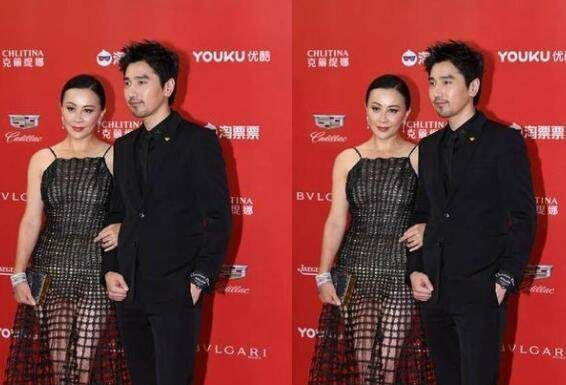 53岁刘嘉玲身穿3D镂空裙现身,网友:梁朝伟有危机感了