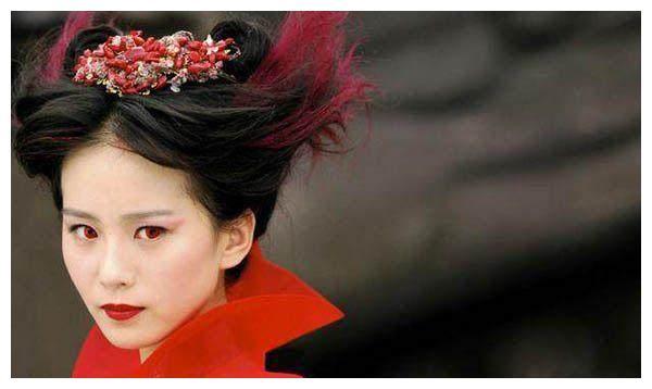 古装染发女子,刘诗诗霸气,阿娇张萌美腻,白冰盛世美颜