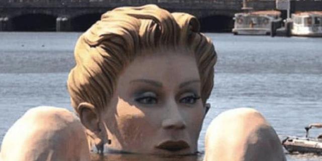 """世界上""""最污""""的雕像,为什么是这样躺在湖里原因竟然是这样"""