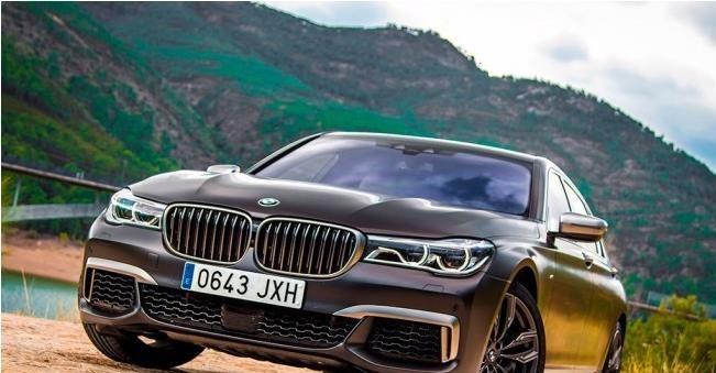 BMW M760Li配置高,内饰高级
