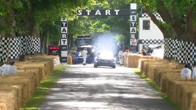 2019年古德伍德速度节,福特M-Sport嘉年华WRC赛车