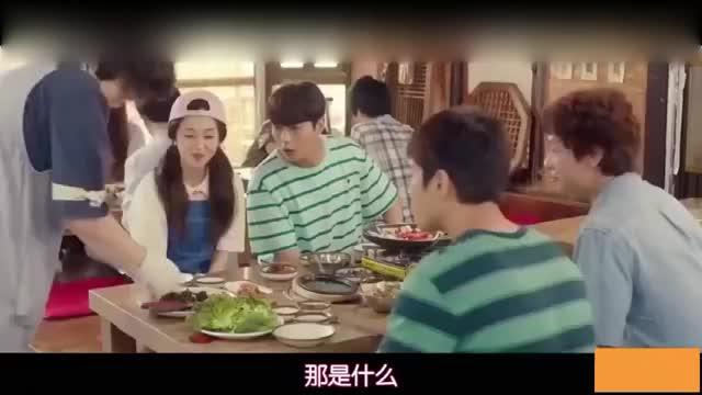 一起用餐吧:白珍熙教吃鳗鱼,三男的被折服,愣是把三男的吃服了