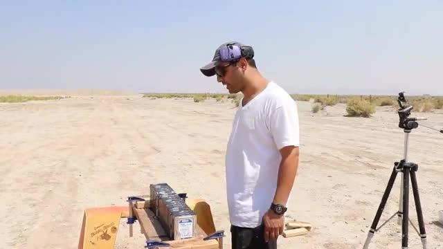 巴雷特在100米射击固态硬盘它的威力到底有多大
