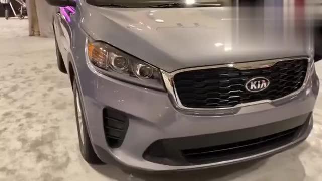 视频:终于见到实车了!2020款起亚索兰托车展亮相,看看都有哪些变化