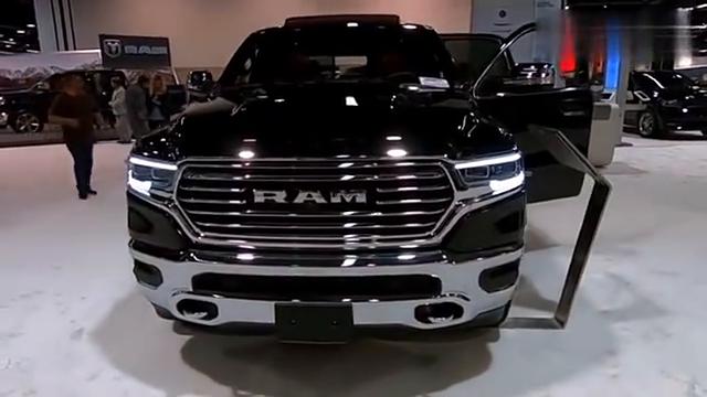 2019款道奇公羊RAM1500全方位展示,太霸气