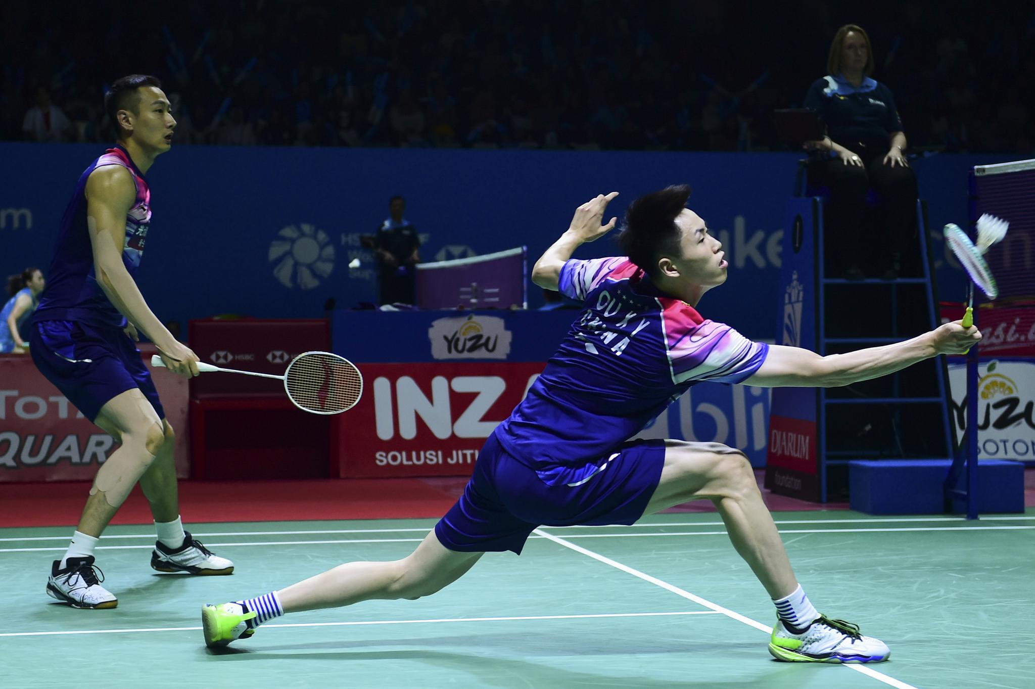 羽毛球——印尼公开赛:欧烜屹/张楠无缘四强