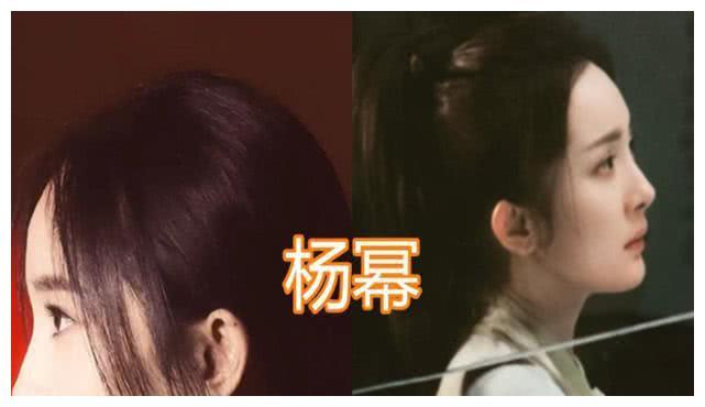 杨幂的侧颜,赵丽颖的侧颜,宋茜的侧颜,看到baby杨颖:黑转粉!