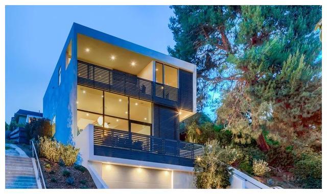 洛杉矶Echo山地别墅,简洁质朴格调十足