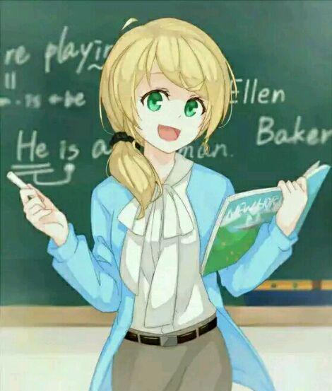 """你们这帮画师是魔鬼吗?画风逐渐变奇怪的""""日本英语老师""""!"""