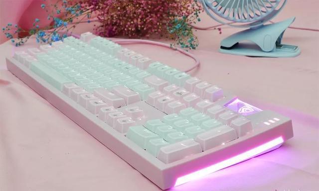 晶粉配色!腹灵发布MAX104机械键盘