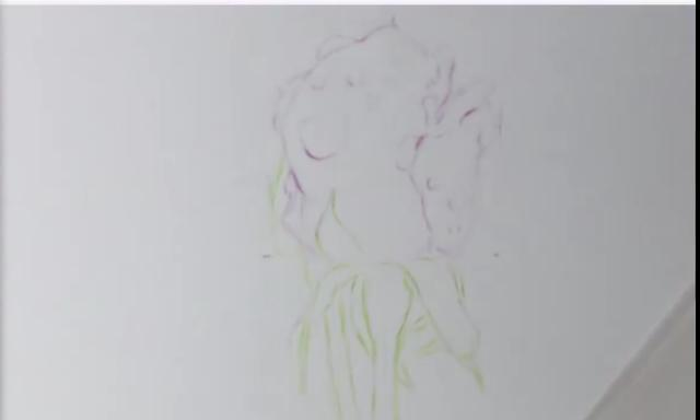 彩铅教程|花瓣上的水珠怎么表现?